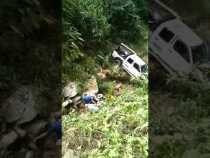 Accidente en zona rural de Samaná
