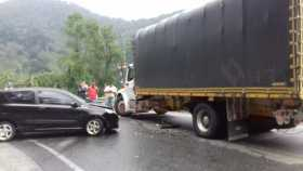 Accidente en Las Margaritas